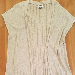 Old Navy Knee Length Shortsleeve Sweater
